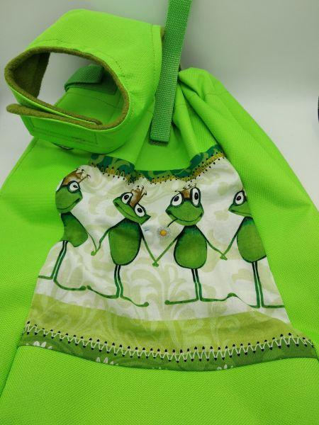 Frösche grün