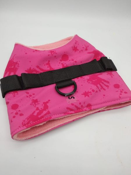 Westengeschirr Pink Hände Fleece einlagig - FRÜHJAHRSEDITION!