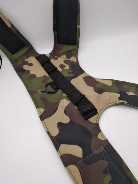 Westengeschirr Camouflage Grün Mesh - SOMMEREDITION!