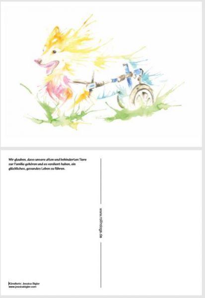 Künstlerpostkarte 10 Stück