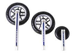 12 Zoll Räder aus Polyurethan mit Strebe