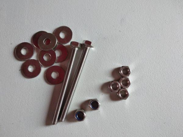 Montageset Schrauben für Lufträder